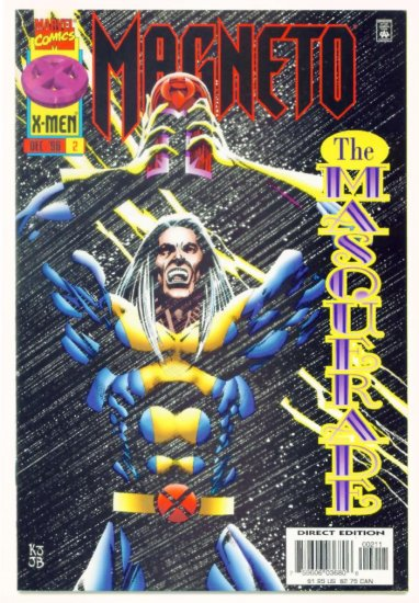 MAGNETO #2 Marvel Comics 1996 NM X-MEN