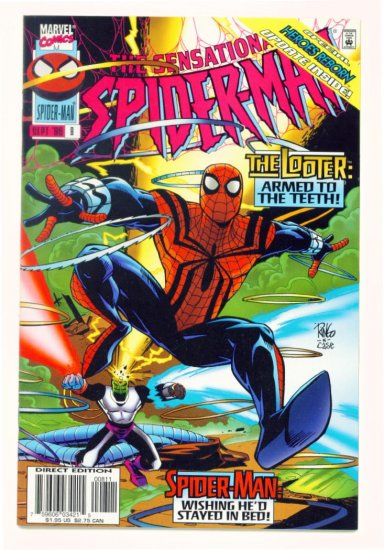 SENSATIONAL SPIDER-MAN #8 Marvel Comics 1996 NM
