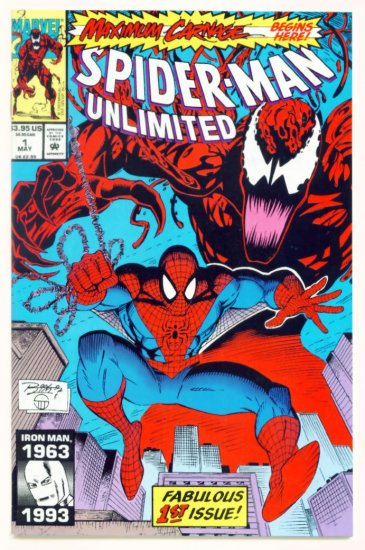 SPIDER-MAN UNLIMITED #1 Marvel Comics 1993 NM Maximum Carnage Part 1