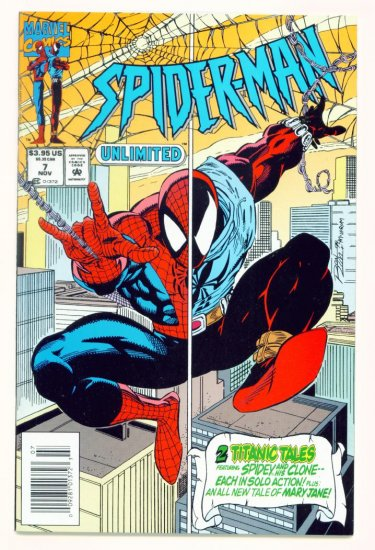 SPIDER-MAN UNLIMITED #7 Marvel Comics 1994 NM