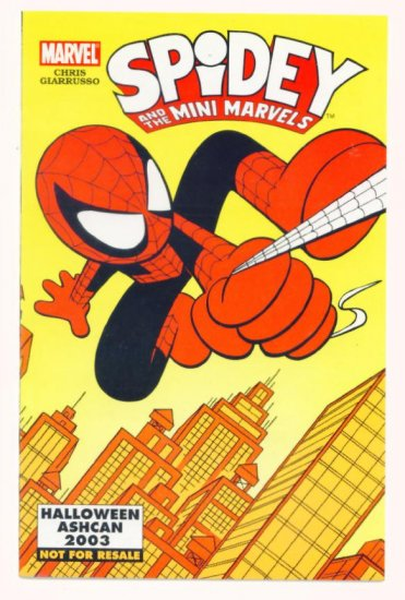 SPIDEY and the MINI MARVELS HALLOWEEN ASHCAN #0 Marvel Comics 2003 NM Spider-man