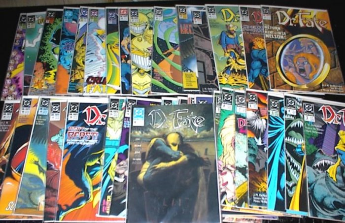 DOCTOR FATE Lot of 34 DC Comics 1989 - 1992