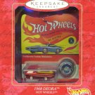 HOT WHEELS 1968 DEORA MINIATURE Hallmark Christmas Ornament 2000