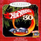HOT WHEELS 30th ANNIVERSARY MINIATURE Hallmark Christmas Ornament 1998