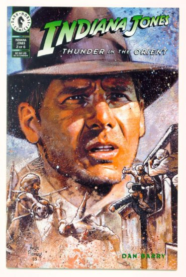 INDIANA JONES THUNDER in the ORIENT #2 Dark Horse Comics 1993