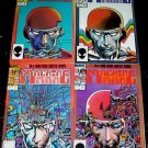 MACHINE MAN #1 - #4 Full Run Marvel Comics Barry Smith