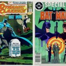BATMAN SPECIAL and DYNAMIC CLASSICS #1 Lot of 2 DC Comics 1978 - 84 Neal Adams