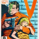 V The VISITORS #2 DC Comics 1985