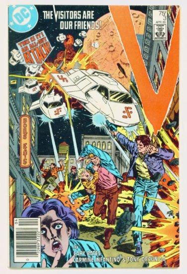 V The VISITORS #3 DC Comics 1985