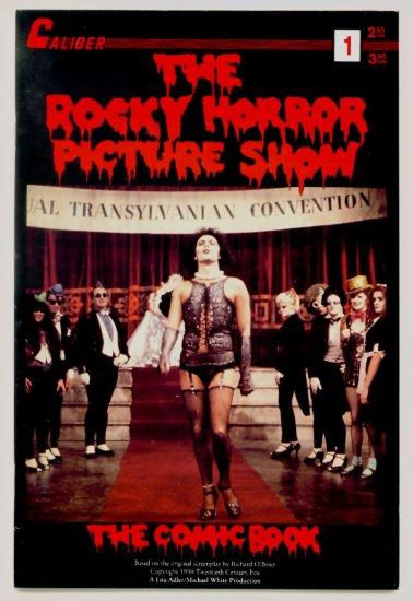 The ROCKY HORROR PICTURE SHOW #1 Caliber Comics 1990