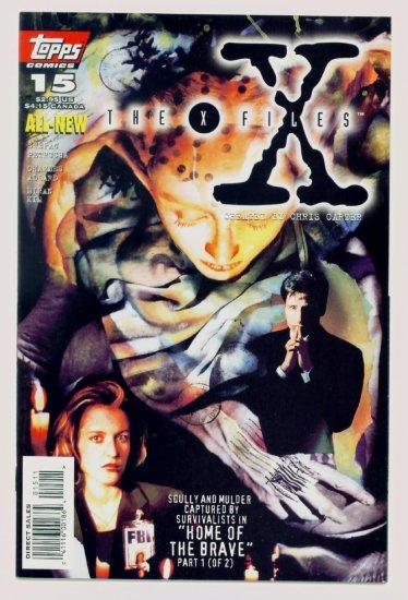 The X-FILES #15 Topps Comics 1996