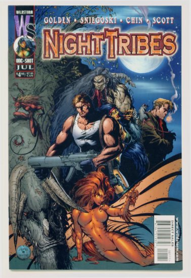 NIGHT TRIBES ONE-SHOT Wildstorm Comics 1999