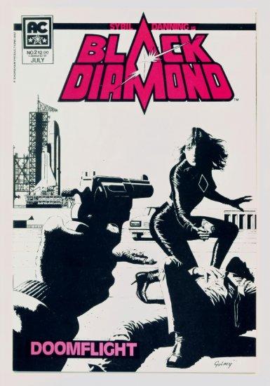 BLACK DIAMOND #2 AC Comics 1983 Sybil Danning