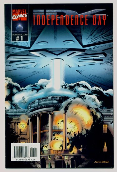 INDEPENDENCE DAY #1 Marvel Comics 1996 Movie Adaptation