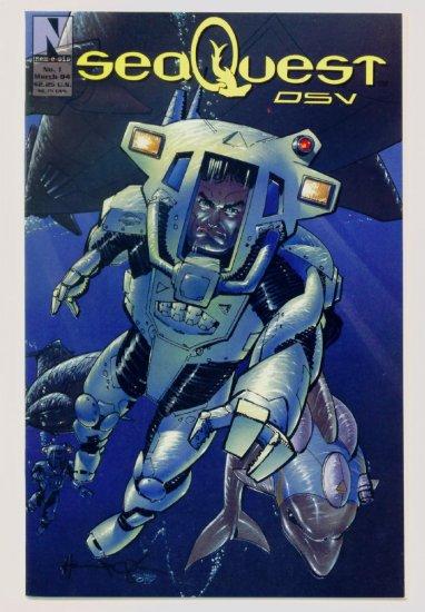 SEA QUEST DSV #1 Nemesis Comics 1994