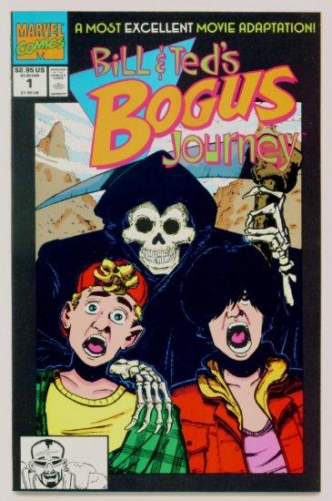 BILL AND TEDS BOGUS JOURNEY #1 Marvel Comics 1991 Movie Adaptation