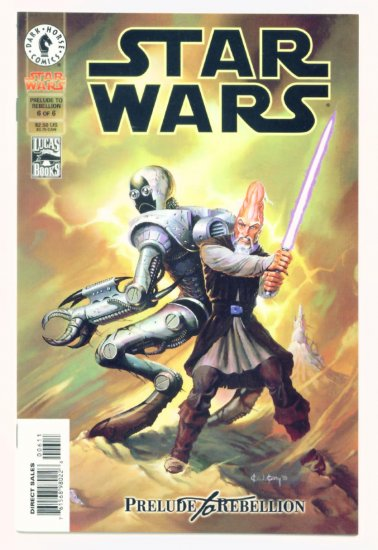 STAR WARS PRELUDE TO REBELLION #6 Dark Horse Comics 1999