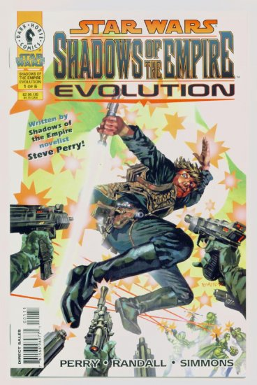 STAR WARS SHADOWS of the EMPIRE EVOLUTION #1 Dark Horse Comics 1998