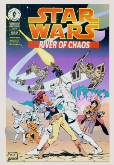 STAR WARS RIVER of CHAOS #1 Dark Horse Comics 1995