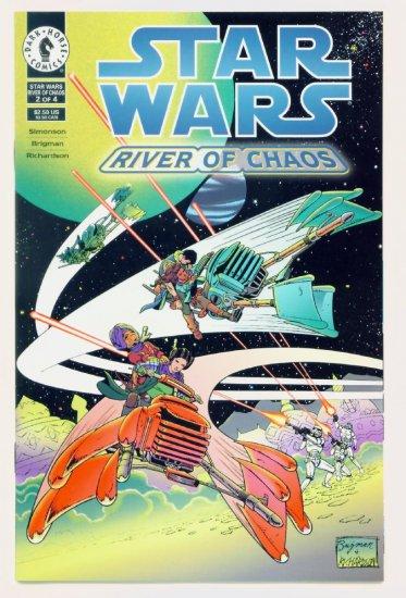 STAR WARS RIVER of CHAOS #2 Dark Horse Comics 1995
