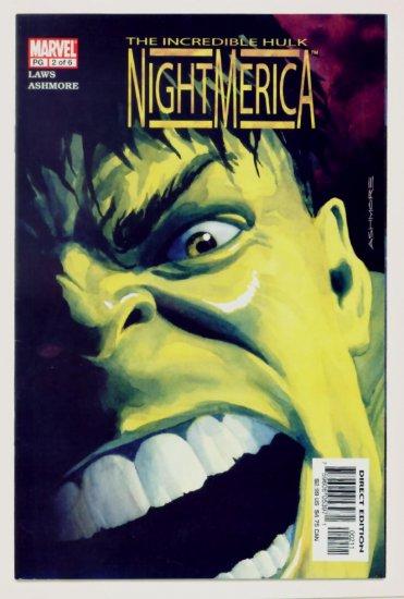 INCREDIBLE HULK NIGHTMERICA #2 Marvel Comics 2003 NM