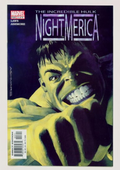 INCREDIBLE HULK NIGHTMERICA #3 Marvel Comics 2003 NM