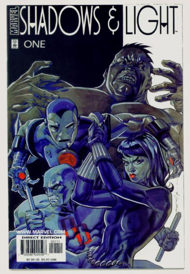 SHADOWS AND LIGHT #1 Marvel Comics 1998  NM Hulk Iron Man Daredevil