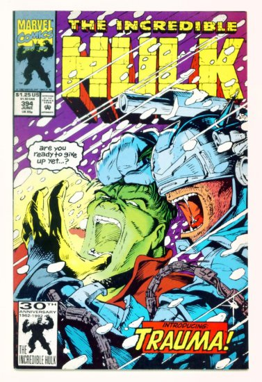 INCREDIBLE HULK #394 Marvel Comics 1992 NM