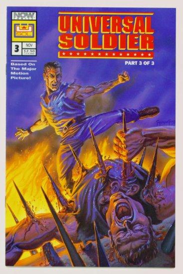 UNIVERSAL SOLDIER #3 Now Comics 1992