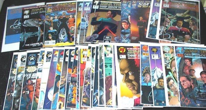 STAR TREK DEEP SPACE NINE Lot of 31 Malibu Comics #1 - #29