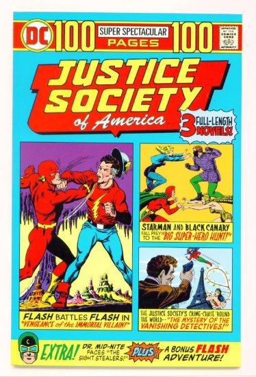 JUSTICE SOCIETY OF AMERICA 100 PAGE  SUPER SPECTACULAR #1 DC Comics 2000