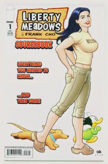 LIBERTY MEADOWS SOURCEBOOK #1 Image Comics 2004 1st Print