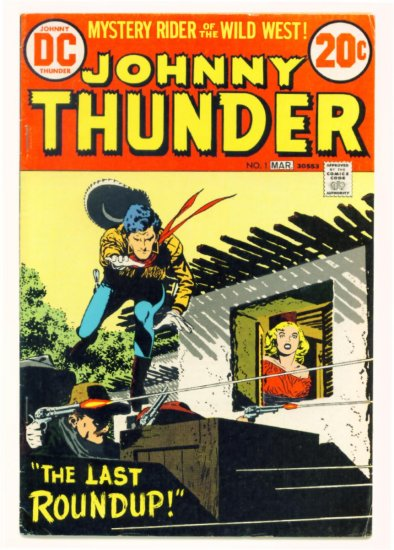 JOHNNY THUNDER #1 DC Comics 1973 Alex Toth Western