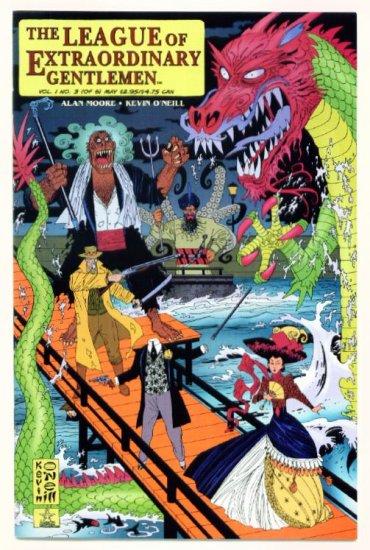The LEAGUE of EXTRAORDINARY GENTLEMEN #3 ABC Comics 1999 v1 Alan Moore