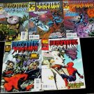 WEBSPINNERS Tales of SPIDER-MAN #1 - #5 Lot of 5 Marvel Comics