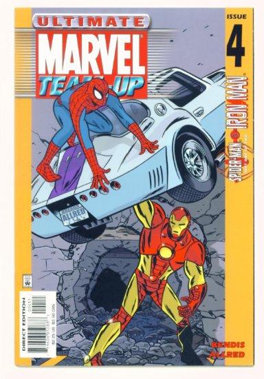 ULTIMATE MARVEL TEAM-UP #4 Marvel Comics 2001 Spider-man Iron Man