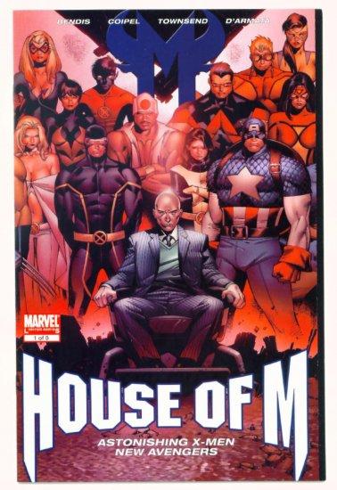 HOUSE of M #1 Marvel Comics 2005 X-MEN AVENGERS