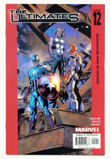 The ULTIMATES #12 Marvel Comics 2003 AVENGERS