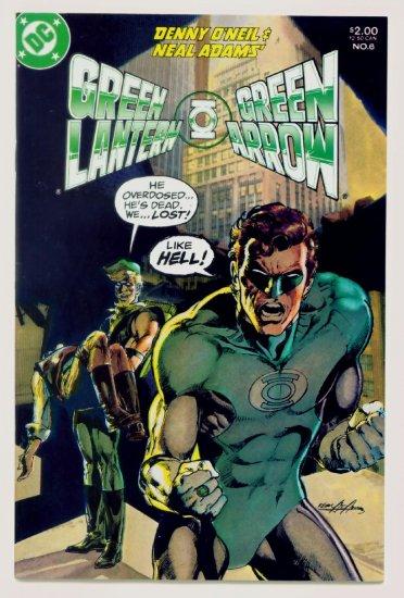 GREEN LANTERN GREEN ARROW #6 DC Comics 1983 Neal Adams