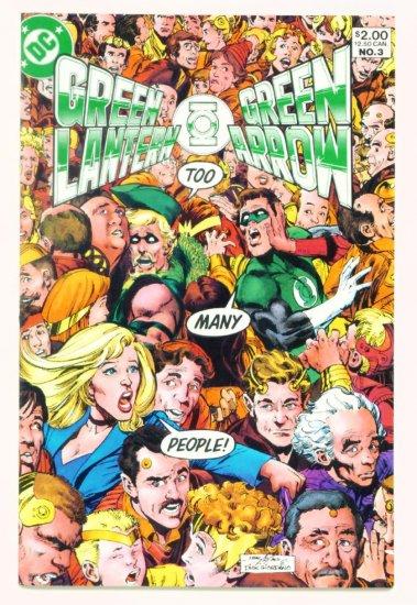 GREEN LANTERN GREEN ARROW #3 DC Comics 1983 Neal Adams