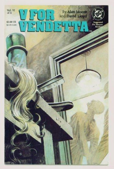 V FOR VENDETTA #6 DC Comics 1988 Alan Moore