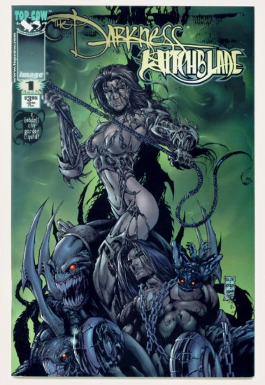 DARKNESS WITCHBLADE #1 Image Top Cow Comics 1999