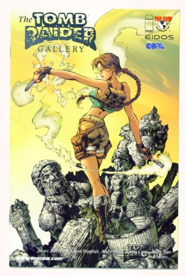 TOMB RAIDER GALLERY #1 Image Top Cow Comics 2000 PLATINUM LIMITED EDITION