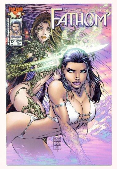 FATHOM #12 Image Top Cow Comics 2000 WITCHBLADE CO-STARS