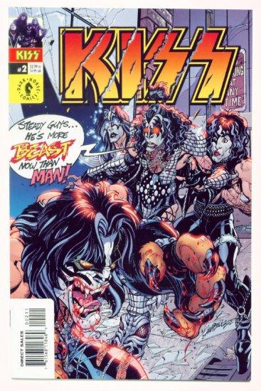 KISS #2 Dark Horse Comics 2002