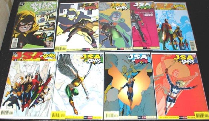 JSA ALL STARS Lot Full Run #1 - #8 DC Comics 2003 Plus Special