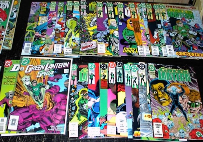 GREEN LANTERN Lot of 30 DC Comics 1990 - 2002