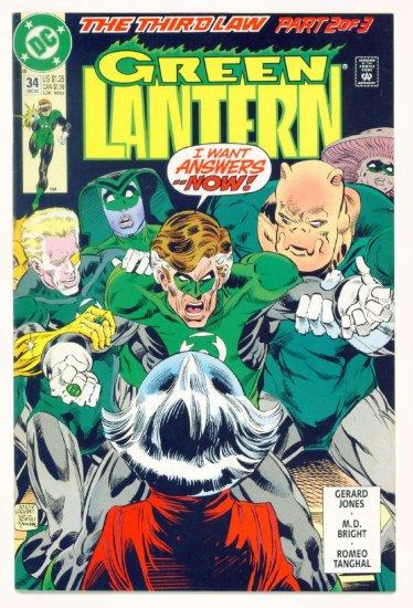 GREEN LANTERN #34 DC Comics 1992