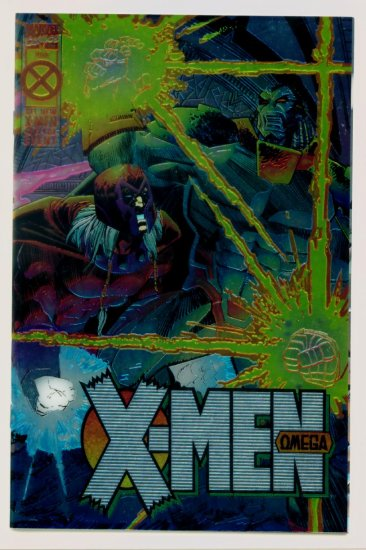 X-MEN OMEGA #1 Marvel Comics 1995 foil cover