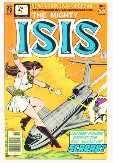 The MIGHTY ISIS #1 DC Comics 1977 Wally Wood